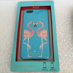 Kate Spade iPhone 6 Plus flamingo case